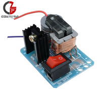 15KV High Frequency DC High Voltage Arc Ignition Generator Inverter Boost Step-Up 18650 DIY Kit U Core Transformer Suite 3.7V 1