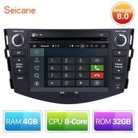 Seicane 8 core Android 8,0 автомобилей Радио dvd плеер головное устройство gps навигации для 2006 2007 2008 2009 2012 TOYOTA RAV4 с 4G + 32 г