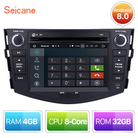 Seicane 8 core Android 8.0 Car Radio DVD Player Head Unit GPS Navigation for 2006 2007 2008 2009 2012 TOYOTA RAV4 with 4G+32G