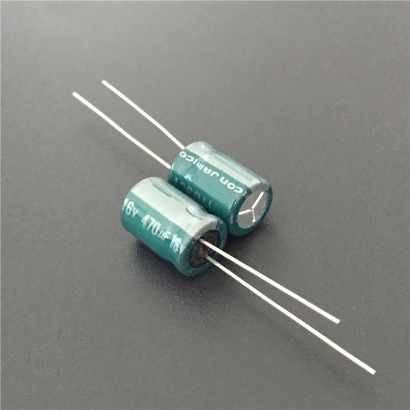 10pcs 470uF 16V JAMICON MZ Series Low Impedance Long Life 8x11.5mm 16V470uF Motherboard/Power Supplier Capacitor