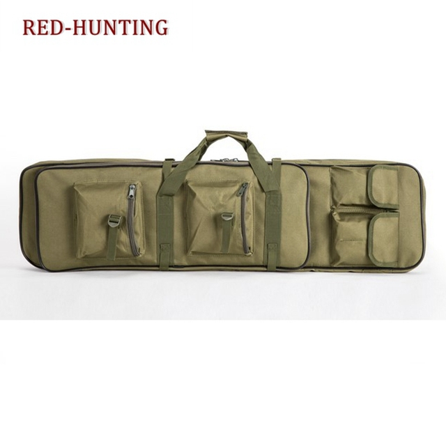 Dual Rifle Carrying Case Gun Bag Backpack Portable Outdoor Tactical Long Guns Bag 33''/39''/47'' 1