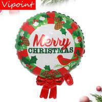 VIPOINT PARTY 64x50 cm weiß grün rot folie luftballons hochzeit event weihnachten halloween festival geburtstag party HY-242