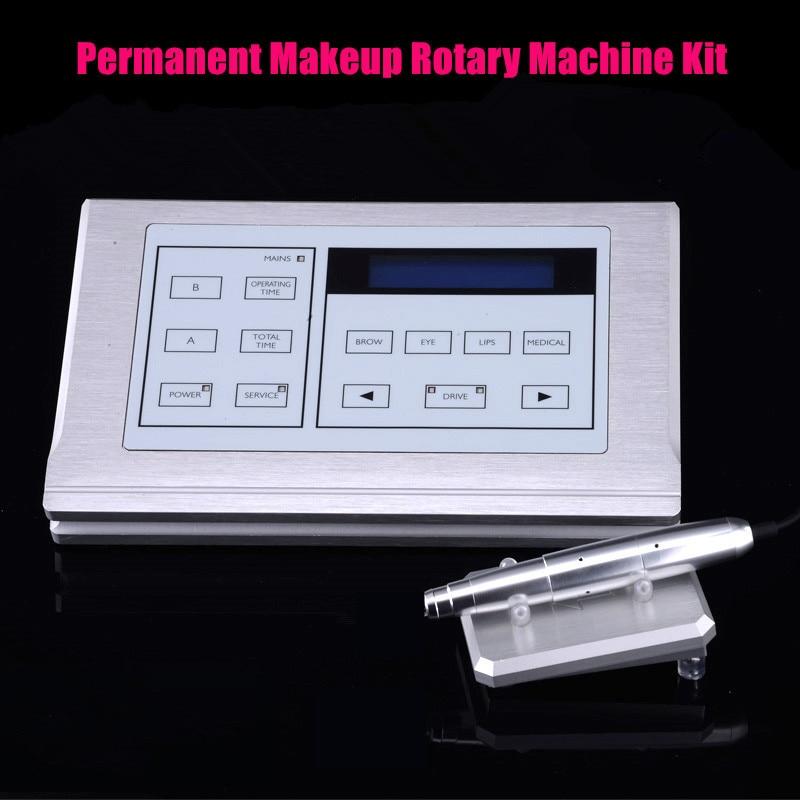 NEW Eyebrow Make up Kits for Lips Rotary Swiss Motor Tattoo Machine Kit /Permanent Makeup Machine pen kit