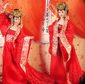 2015 de Calidad Superior Chino Antiguo Ropa Dinastía Tang Concubina Imperial Señora Ropa Princesa Ropa de Brocado Chino
