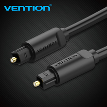 Vention Digital Optical Audio Cable Toslink Gold Plated 1m 2m 3m SPDIF Coaxial Cable for Blu-ray CD DVD Player Xbox 360 PS3 TV