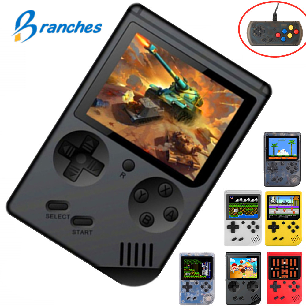 Coolbaby Retro Portable Mini Handheld Game Console 8-Bit 3.0 Inch Color LCD Kids Color Game Player Built-in 168 boy Video games image
