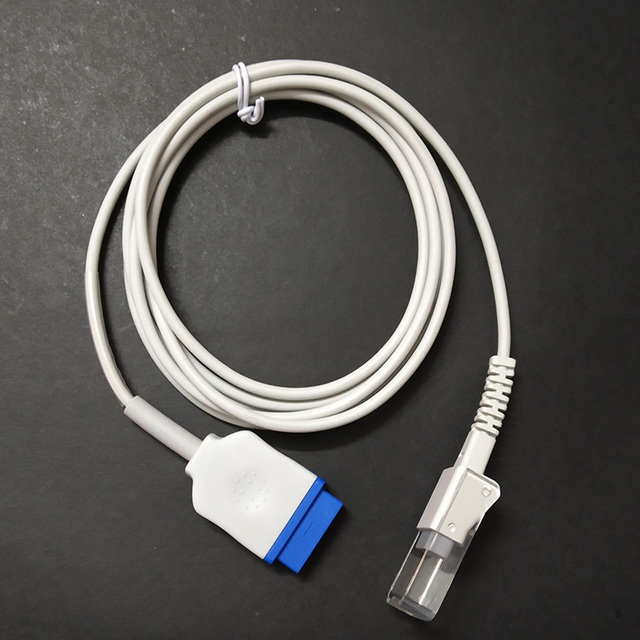 Compatible GE,Marqutte,Ohmeda SpO2 Extansion cable GE V 10,GE2500,Dash4000  model 11pin to DB9F spo2 cable masimo/nellcor/oxitech on Aliexpress com |