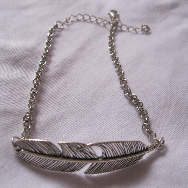 q anklet preview ruffle feather silver t dont let sterling bracelet life
