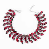 New arrived eyes Crystal Bracelets with Stones chain bracelet bride angel wing 3 color for women gifts accessories B041