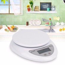 OUTAD 5000g/1g Accurate Eelectronic LED Digital kitchen scales Food Diet Postal balance weight weighting Kitchen Gadget 5KG