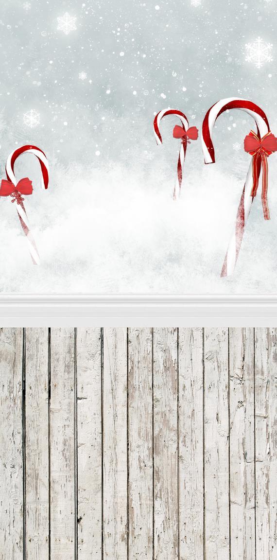 5X10ft Искусства ткани фон фотографии фоном рождество снежинка фон D-083