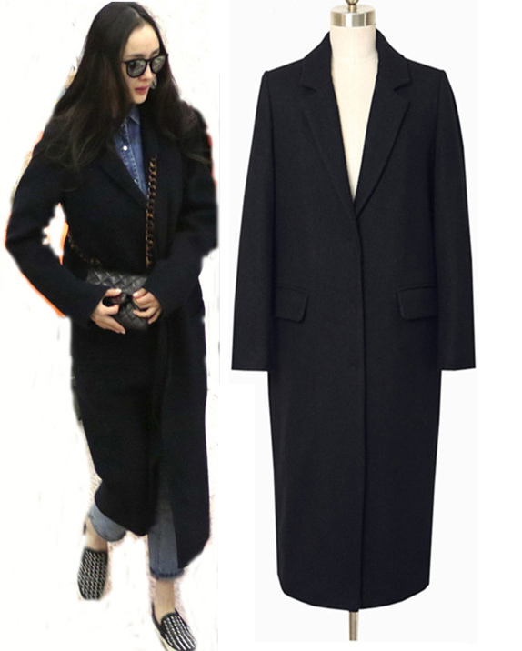 Popular Womens Fall Black Coat-Buy Cheap Womens Fall Black Coat