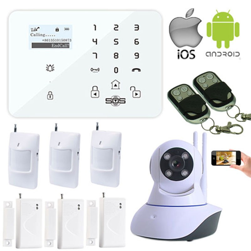 W11I wifi camera alarm