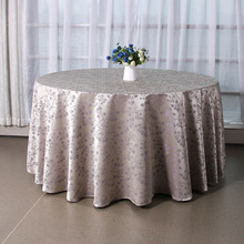 Mordern Polyester Round Table Cloth Fabric Rectangular Tablecloth Hotel Party Wedding Tablecloth Dining and Coffee Table Cloth