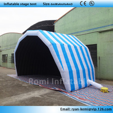 Free shipping inflatable stage tent Inflatable exhibition tent advertising tent display tradeshow sports tent