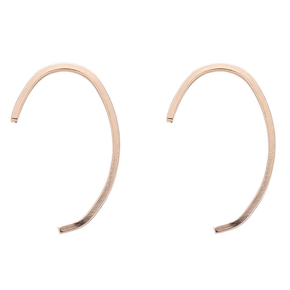 Женские Простые геометрические вечерние c-образные серьги с крючками для вечеринок ювелирные изделия на Рождество День рождения