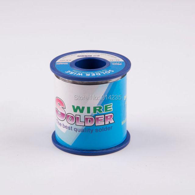 0.8mm solder core wire rosin core solder flux soldering welding iron ...