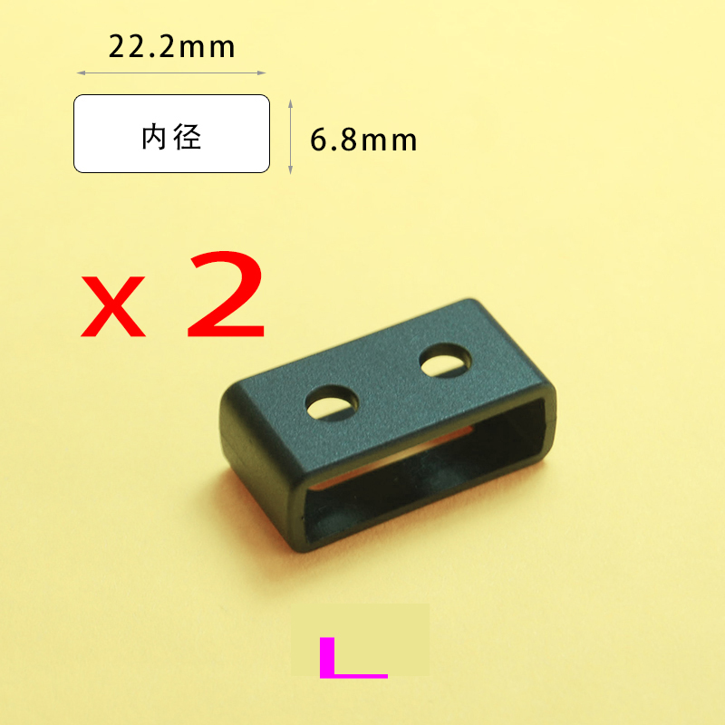 3 Size Resin TPU Watch Strap Buckle Band Keeper Hoop Loop Holder Retainer Ring For casio