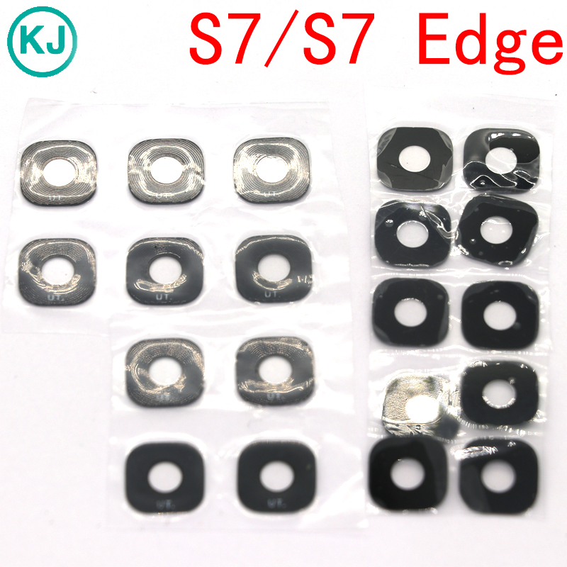 10pcs Rear S7 / S7 Edge Back Camera Lens Protective Cover For Samsung