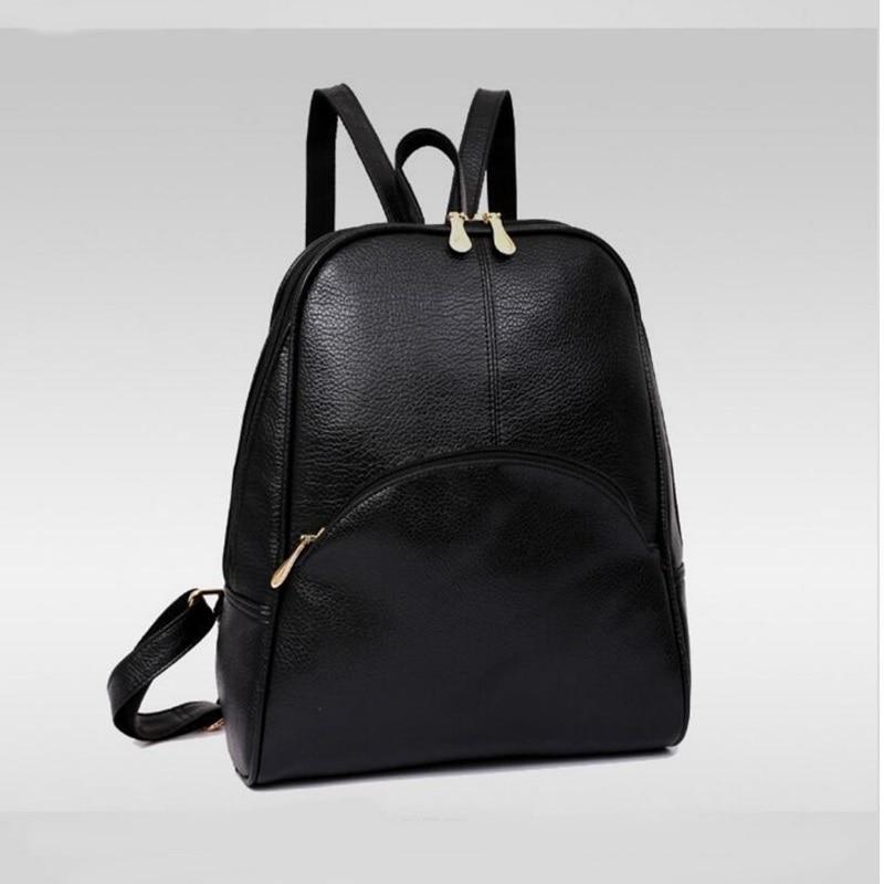 Panta shpine lëkure, çanta të rrumbullakëta të stilit të - Çantë e shpinës - Foto 4