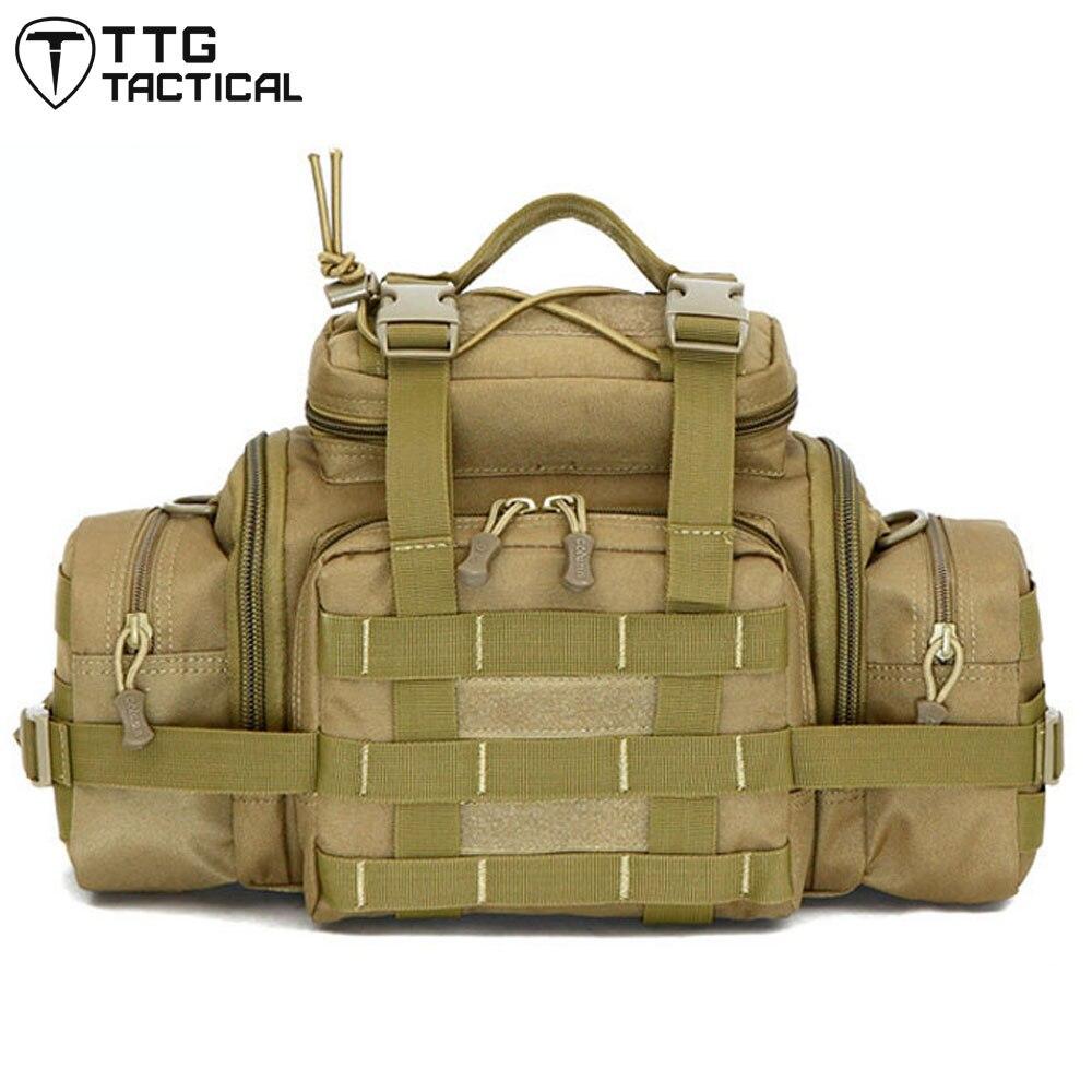MOLLE Utility Waist Hand Shoulder Bag Waterproof SRL Camera Bags Military Messenger Bag