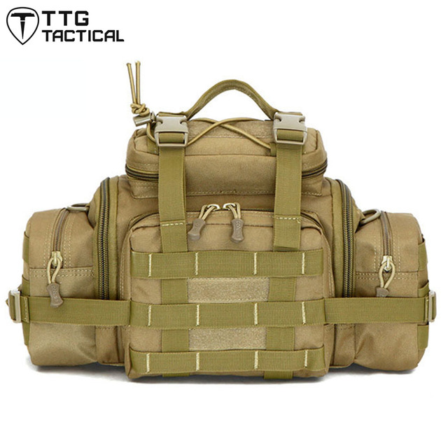 MOLLE Utility Waist Hand Shoulder Bag Waterproof SRL Camera Bags Military Messenger Bag