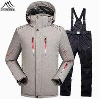 SAENSHING Winter Ski Suit Men Snowboarding Suits Waterproof 10000 Windproof Snow Ski Jacket Snowboard Pant Super
