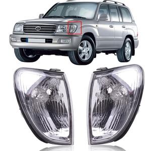 CAPQX Front headlight Marker Light Corner turn signals lamp FOR 98-05 LAND CRUISER 100 HDJ100 HDJ101 HZJ105 FZJ100 81521-60360