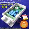 Free Shipping Post Airmail 1pcs Seven Relay Real Time GSM Remote Control Relay Output Contacts Switch