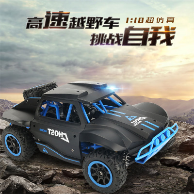 <font><b>1</b></font>/18 RC Car High Speed Off-road Drift Buggy 2.4GHz Radio Remote Control Racing Car Model Rock Crawler Vehicle Toys for Kids Boy image