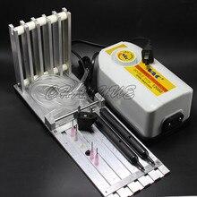 Cinco ranuras de componentes SMT colocación de la máquina SMT SMD cinco ranura de alimentación manual de rack rack de alimentación + 12000 pluma de succión al vacío