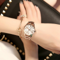 TG099 KIMIO Swirl Marks Dial Jewelry Fashion Lady Quartz Analog Bracelet Watch