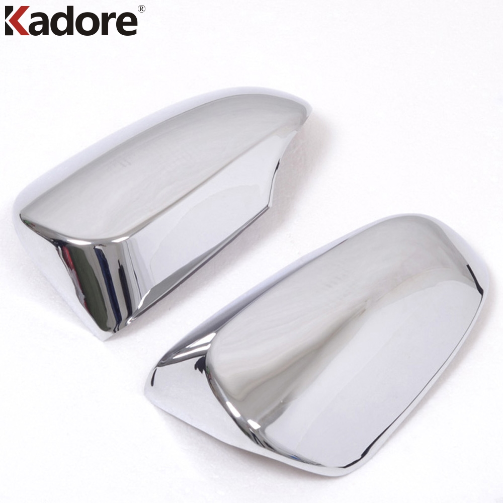 For Toyota Camry 2012-2015 Low-profile Car Accessories Rearview Mirror Cover ABS Chrome Auto Back Mirrors Covers Trims Styling