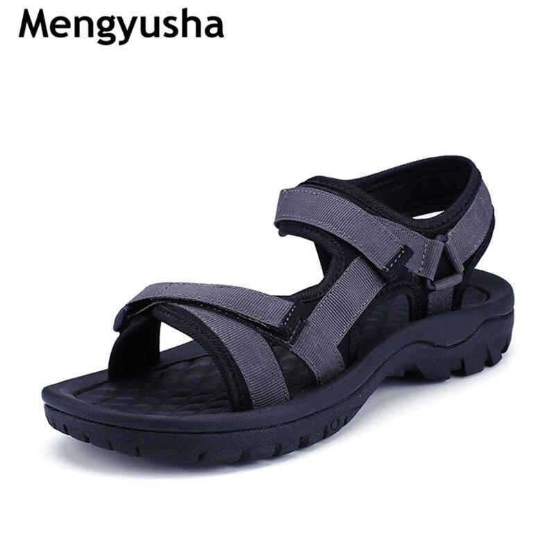 Mengyusha 2018 Summer Gladiator Men'S Beach Sandals Outdoor Shoes Roman Men Casual Shoe Flip Flops