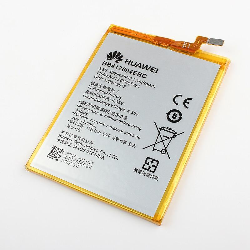 Original Huawei phone Battery for Huawei Mate 7 MT7 TL00 TL10 UL00 CL00 4100mAh HB417094EBC