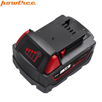 Powtree 6000mAh 18V M18 For Milwaukee Power Tools 6.0AH Li-ion Battery Replacement 48-11-1840 48-11-1815 48-11-1850 48-11-1811