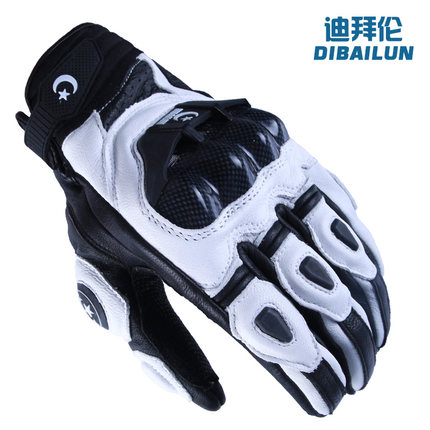 Di byron motorcycle riding leather gloves refers to all the drivers set of off-road racing locomotive hockey gloves