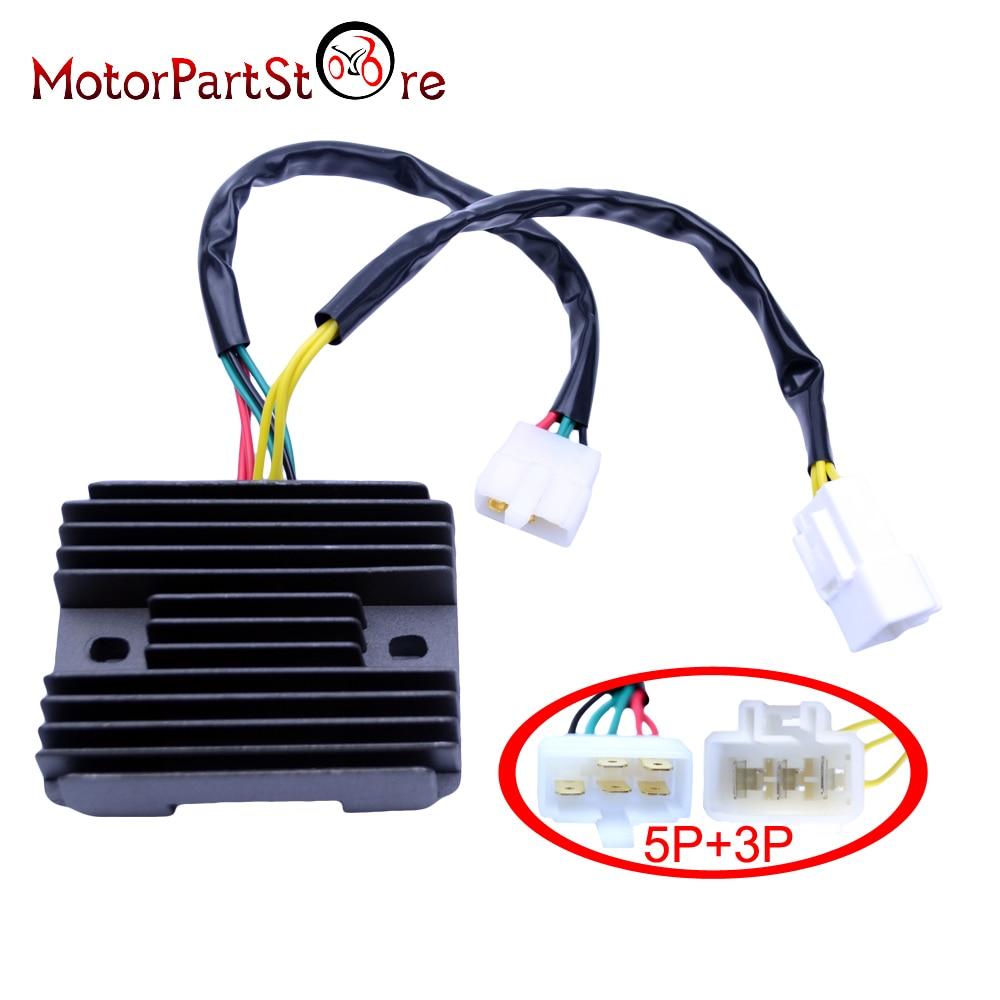 5 Pin   3 Pin Motorcycle Voltage Regulator Rectifier For