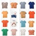 2017 NUEVA ins Bobo Choses Bebé Camiseta Camiseta Superior Para niños Niñas Tops Tee camiseta de Los Niños t-shirt Niños Ropa de Bebé verano