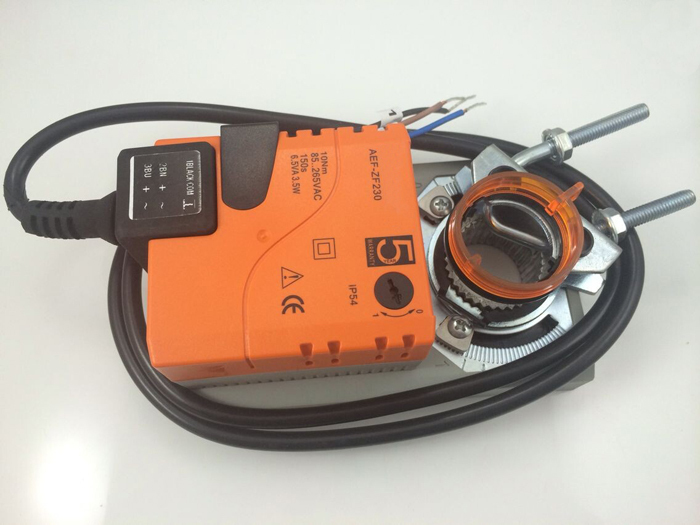 AC85-265V 10Nm non-spring return electric damper actuator on/off type air valve controller used for ventilation 4nm ac220v actuator for electric motorized ball valve on off type with manual override and open angle graduation