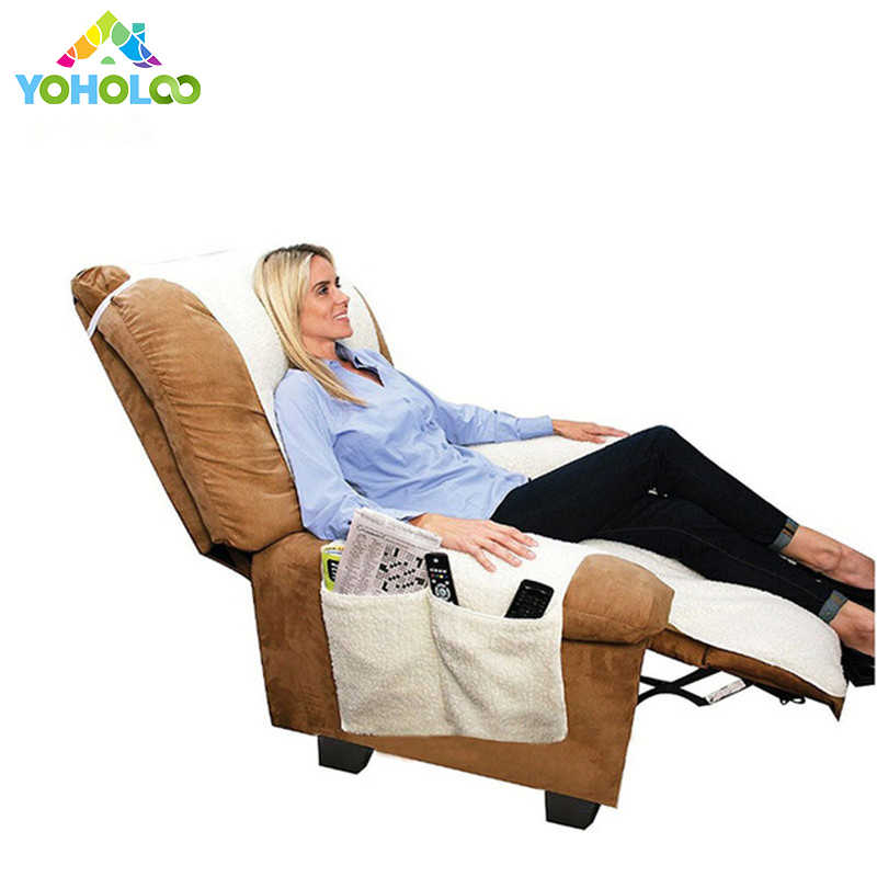 Fabulous Recliner Chair Cover Protector With Remotes And Cellphones Pockets Fit Furniture Chair Lazy Boy Cover Stretch Couch Sofa Cover Spiritservingveterans Wood Chair Design Ideas Spiritservingveteransorg