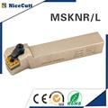 MSKNR/L2525M12 Nicecutt внешний токарный инструмент держатель для SNMG вставной токарный инструмент держатель