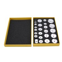 20/25PCS sets of Professional Watch Repair Tool Kit Watch Capping Machine Aluminum Film Sets Of Capping Machine Accessories