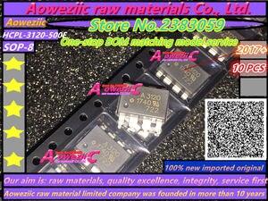 """Image 1 - Aoweziic 2017 + 100% חדש מיובא מקורי HCPL 3120 500E SOP 8 HCPL 3120 000E מח""""ש 8 HCPL 3120 A3120 IGBT מונע מצמד אופטי"""