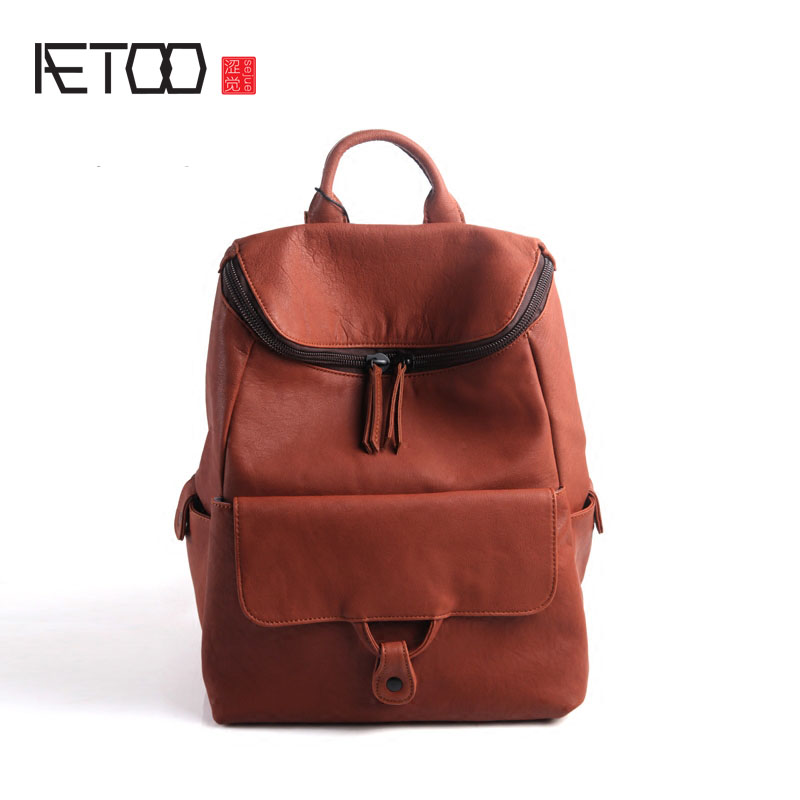 AETOO Leather men's bag of the first layer of cowhide fashion delicate handsome bag infant shining play mat nordic style rugs and carpets for living room bedroom soft velvet kid s game mat coffee table carpet