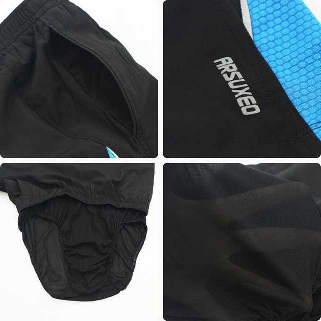 ARSUEXO Men's 2 In 1 Men's Running Shorts Men Sport Shorts Marathon Tennis Fitness Crossfit GYM Shorts With Back Zipper Pocket
