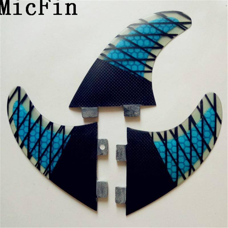 FCS G5 Fin Surf fiberglas Honeycomb karbon Fins Quilhas - Su idmanı - Fotoqrafiya 4