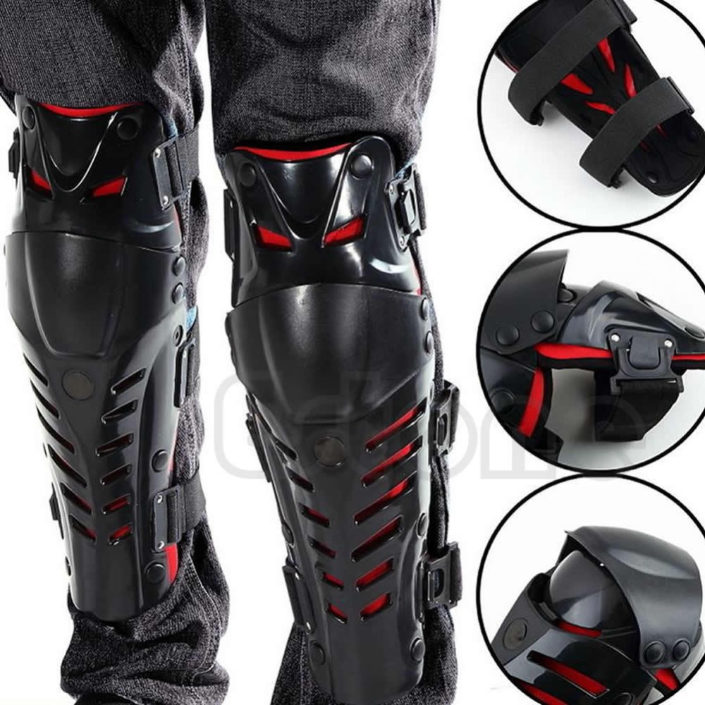Image 4 - New Motorcycle Racing Motocross Knee Protector Pads Guards  Protective Gear High QualityMotorcycle Protective Kneepad   -