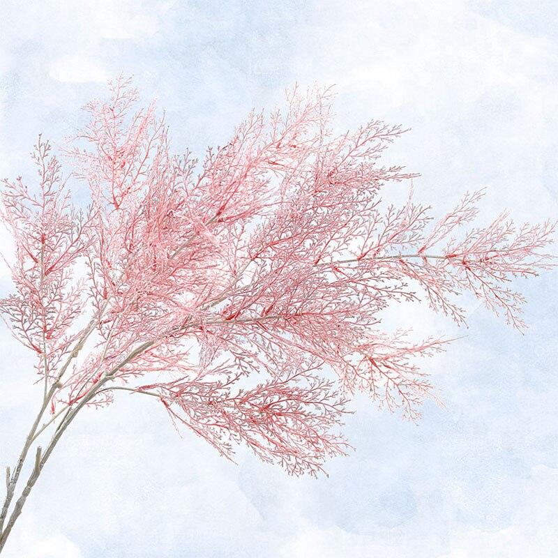 60cm Artificial Flower Smog Grass Fake Flower For Wedding Christmas Ornament DIY Garden Plant Home Decor Photography Props