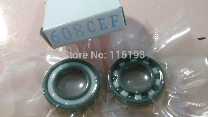 608 full SI3N4 ceramic deep groove ball bearing 8x22x7mm skatebord bearing 6901 2rs full si3n4 ceramic deep groove ball bearing 12x24x6mm 6901 2rs